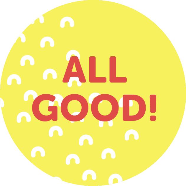 All Good Badge