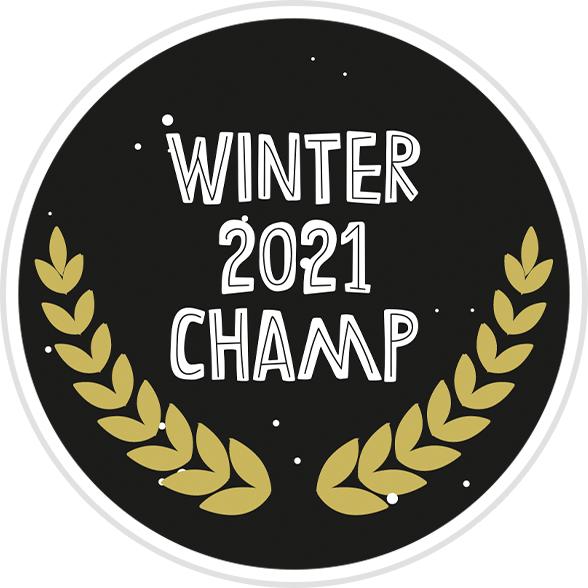 Winter 2021 Champ Badge