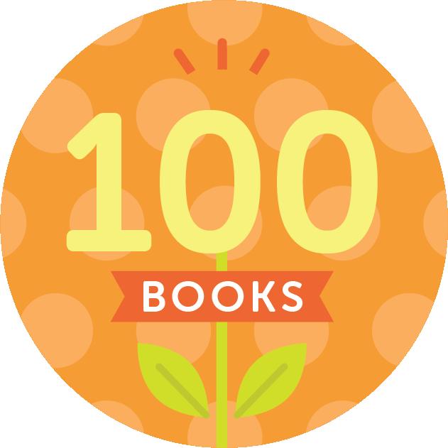 100 Books Badge