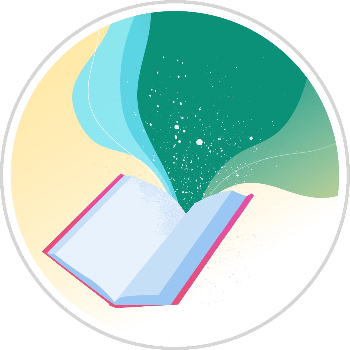 Open Book Badge