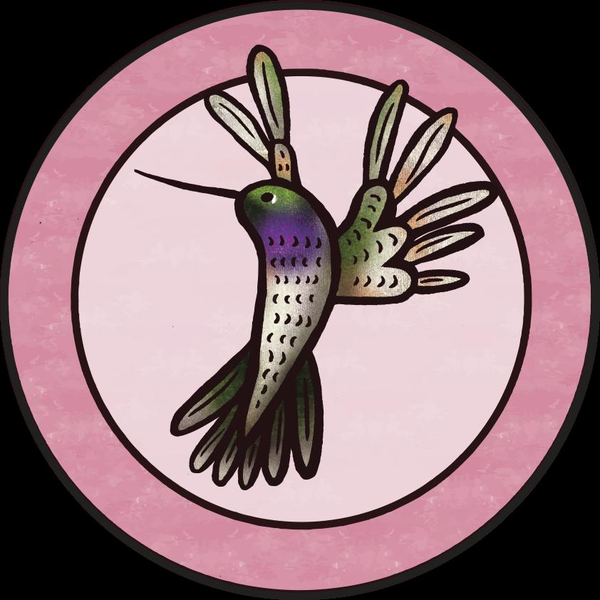 Hummingbird Badge