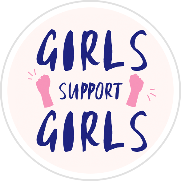 Girls Support Girls Badge
