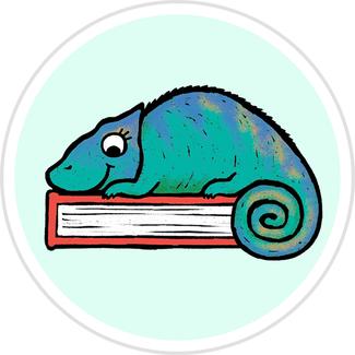 Chameleon Badge