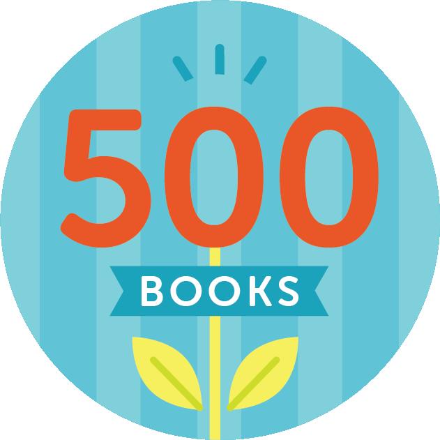 500 Books Badge