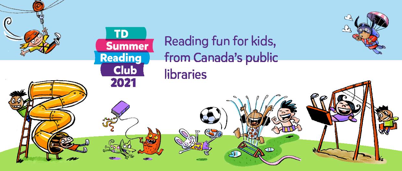 TD Summer Reading Club Banner