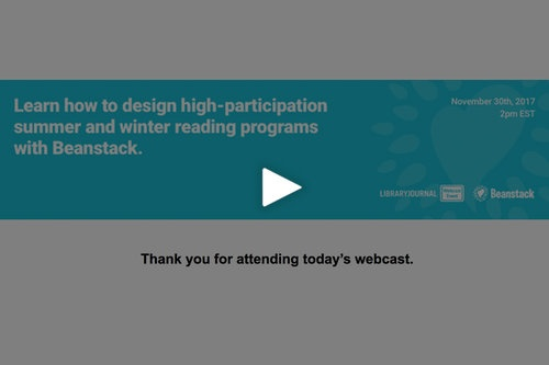 Library Journal Webcast