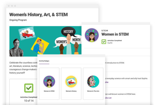Women's History, Art, & STEM