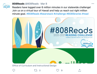 Tweet from 808 Reads (@808Reads)