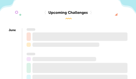 PDF of challenges throughout the year